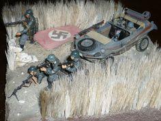 0pération Barbarossa , juin 1941 , division SS Totenkopf , 1/35 scale .