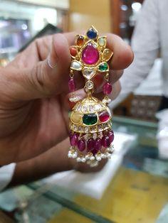 Jewelry Design Earrings, Gold Earrings Designs, Coral Jewelry, Beaded Jewelry, Silver Jewelry, Jhumka Designs, Jhumki Earrings, Jewellery Sketches, Photo Jewelry