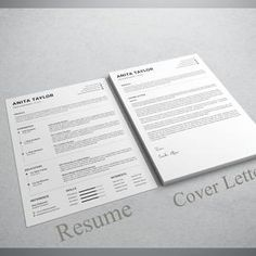 Resume template instant download  resume template wordresume image 3 Resume Objective Examples, Good Resume Examples, Modern Resume Template, Creative Resume Templates, Sorority Resume, Hr Resume, Server Resume, Architect Resume, Create A Resume