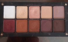 long hair and lashes: My Inglot Eyeshadow Palettes + Swatches.
