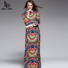 Autumn Winter Women Dress Patchwork Print Embroidered Vests ethnic Vintage Dress Like and share this pure awesomeness! www.storeglum.com... #shop #beauty #Woman's fashion #Products