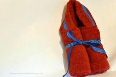 diy baby hooded bath towel