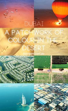 Dubai stunning aerial photography - views from above