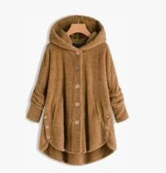 Women's Double-faced Flush Hoodie Coat Wool Blend, Size Chart, That Look, Hoodies, Customer Service, Coat, Computers, Face, Manual