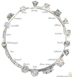 Diamond Wedding Rings ring settings infographic guide - makehappymemories - 18 Ring Settings All you need to know Engagement Ring Settings, Vintage Engagement Rings, Diamond Engagement Rings, Halo Engagement, Solitaire Diamond, Diamond Ring Settings, Designer Engagement Rings, Amazing Engagement Rings, Tiffany Solitaire
