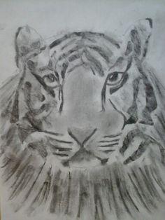 Hiilipiirros Lion Sculpture, Statue, Animals, Art, Art Background, Animales, Animaux, Kunst, Animal Memes