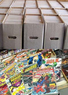 Box Lot of 50 Comics --> Free Shipping! - Exclusively on #priceabate #priceabateCollectibles! BUY IT NOW ONLY $25