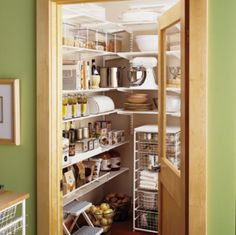 simple yet well organized pantry example - shelterness | anna's