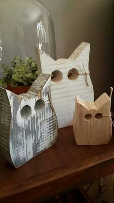 Stroopsoet Kinder Kamer Décor is a small business full of love, inspiration and passion! Scrap Wood Crafts, Fall Wood Crafts, Halloween Wood Crafts, Christmas Wood Crafts, Owl Crafts, Pallet Crafts, Wooden Crafts, Scrap Wood Art, Small Wood Projects