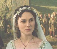 King Arthur-- I loved her wedding veil