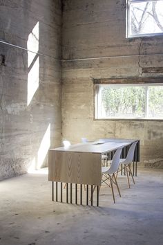 Ash Conference Table | Synecdoche | Archinect