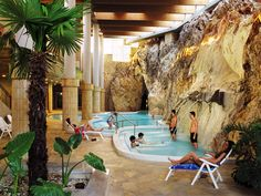Thermal Cave Bath in Miskolctapolca, Hungary