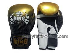 Top King TOP KING Muay Thai Gloves SUPER STAR (AIR) - GOLD for sale.  [TKBGSS-01-GD-A]