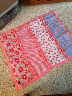 Strawberry Matilda Jane blanket