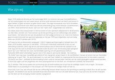 TC Olen website informatie - geschiedenis