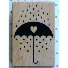 Paraguas con corazones - Delipapel Shop