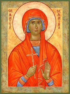 St. Marina (July 17) by Michael Kapeluck