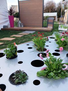 Aménagement de jardin sur mesure contemporain et innovant ...