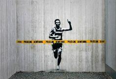 Street Art - Culture 3d Street Art, Street Art Utopia, Street Art Banksy, Best Street Art, Amazing Street Art, Street Artists, Banksy Graffiti, Berlin Graffiti, New York Graffiti