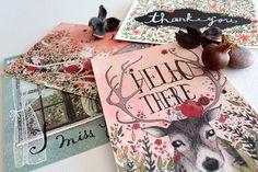 """Seasons"": Postcard Collection [2013] on Behance"