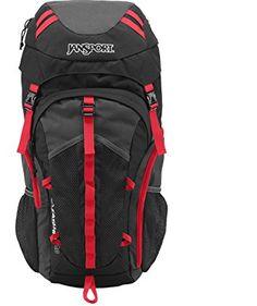 JanSport Mens Outdoor Mainstream Katahdin 40 Backpack - Grey Tar/Forge Grey / X X JanSport Rucksack Bag, Jansport Backpack, Best Ultralight Backpack, Ultralight Backpacking, Camping Outfits, Camping Clothing, Coupon Design, Discount Clothing