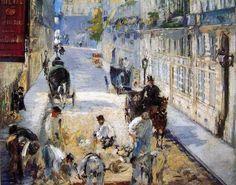 """PISSARRO: """"Bulevar Montmartre, tarde soleada"""", 1897      La ciudad evoluciona   El impresionismo  mostrará una atención especial ..."""