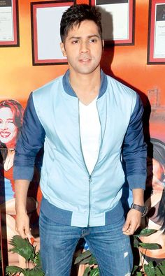 Varun Dhawan at Dilwale promotions