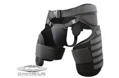 Damascus Protective Gear TG40 IMPERIAL Thigh / Groin Protector with Molle System, Black, 1
