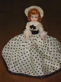 Blue Bonnet & Reddi-Wip Vintage Plastic Dolls