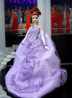 Barbie Miss Bashkiria 2012 by Ninimomo Dolls Barbie Gowns, Barbie Clothes, Barbie Miss, Moda Retro, Beautiful Barbie Dolls, Barbie Princess, Barbie Friends, Vintage Barbie, Beautiful Gowns