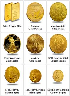 Gold Bullion Coins & Bars Are Now at Your Fingertips! #GoldInvesting