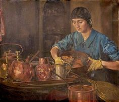 Pots and Pans, Natal, South Africa by Harry Marriott Burton 1882–1979 British