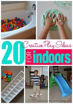 20 Creative Indoor Play Activities | Houston Moms Blog