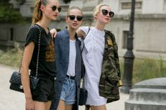 Modelsoffthecatwalk: Street Style