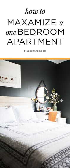 Genius small apartment decorating ideas that will maximize your space.   Read up on these clever one-bedroom apartment hacks and storage ideas from the interior design experts at Homepolish.