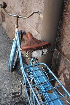 Bike in Helsinki, Finland.... Photo by Andrea Duffy