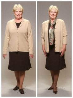 """Style Solution: It's amazing the difference clothing and accessories can make in how slim and trim a woman looks. Follow the easy tips listed below to peel off 10 … 15 … even 20 visual pounds – INSTANTLY! Wear a """"column of color"""" – one color head to toe. [...]"""