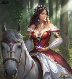 Dark fantasy art character inspiration artworks 40 New Ideas Dark Fantasy, Fantasy Girl, Foto Fantasy, Fantasy Women, Medieval Fantasy, Fantasy Warrior, Fantasy Princess, Fantasy Dress, Elven Princess