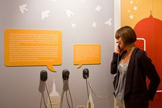 USO - the earphone for audio exhibits and listening stations - at wortreich Bad Hersfeld