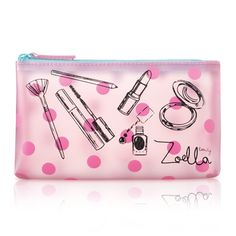 Zoella Beauty Pnk Frosted Cosmetc / Con Purse / Make Up Bag Creative Birthday Gifts, Friend Birthday Gifts, Trousse Make Up, Youtuber Merch, Youtubers, Zoella Beauty, Zoella Makeup, Cosmetic Pouch, Cosmetic Storage