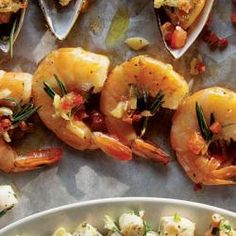 Rosemary Recipes | SAVEUR....Gamberi al Rosmarino [Shrimp with Pancetta and Rosemary]
