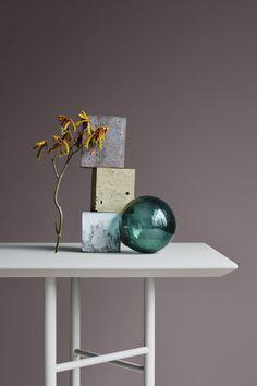 Dempet lilla aksentfarge Hallway Inspiration, Color Inspiration, Interior Inspiration, Jotun Lady, Lavender Walls, Colour Schemes, Interior Design Kitchen, Wall Colors, Slate