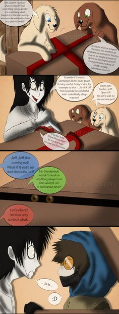 Adventures With Jeff The Killer - PAGE 58 by Sapphiresenthiss