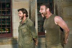 X-Men Origins--Wolverine: Live Schreiber as character Victor Creed; Hugh Jackman as Logan