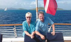 Good wine azure sea and palm trees: Alan Titchmarsh is cruising the Caribbean