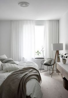 Bright, light and airy.