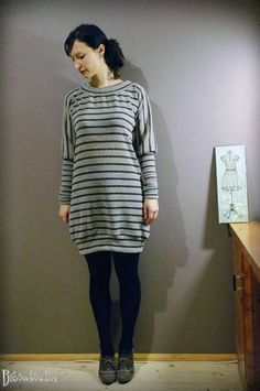 Robe Bisoudoudou - free pattern (size M) and tutorial.