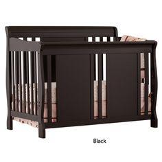 Shermag Tuscany Convertible Crib Bourbon Winnie The