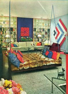 """1970, from """"House and Garden's Complete Guide to Interior Decoration"""""""