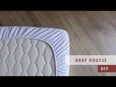 Comment coudre un drap housse | Parure de lit ep.3 Easy Youtube, Techniques Couture, Dress Sewing Patterns, Aquariums, Mask For Kids, Crochet, Pillows, Scrappy Quilts, Bedspreads
